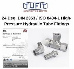 Tufit Swivel Run Tee Coupling With Connector