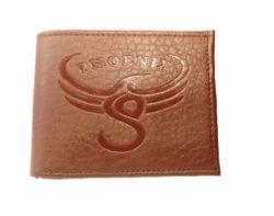 Black, Brown Foam Leather Phoenix Men's Wallet - Litchie