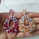 Multicolor AD Earring