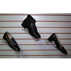 Footwear Display On Slatwall Board