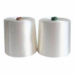 Roto White Polyester Yarn