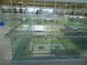 Commercial Balcony Glass Railing