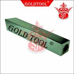 Gold Tool Bracelet Mandrel Square