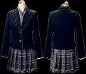 Girl Woolen School Blazer