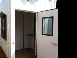 Galvanizes Iron Security Cabin