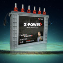 Z-power Solar Rechargeable Battery, Voltage: 12 V