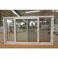 Aluminium Plain UPVC Sliding Windows, for Home And Residential