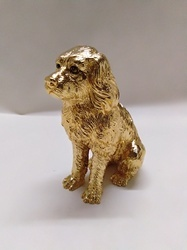 Golden Dog Statue