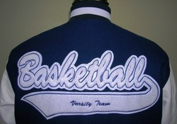 Basketball Jacket Patch