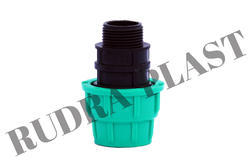 Male Thread Adapter Pipe Coupler