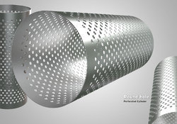 Round Hole Perforated Cylinder