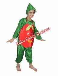 Kids Smiley Apple Costume
