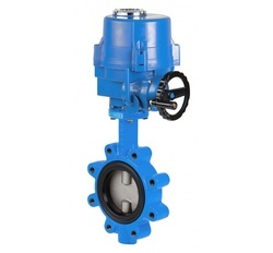 Electrically Actuated Butterfly Valve