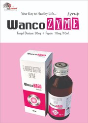 Enzyme Syrup- Diastase 50mg.Pepsin 10mg/10ml