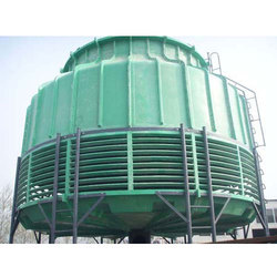 Bottle Shape FRP Cooling Towers
