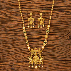 Temple jewellery temple jewelry manufacturers suppliers antique temple pendant set with gold plating 19442 mozeypictures Choice Image