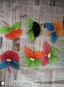 Homemade Multi Color Butterfly