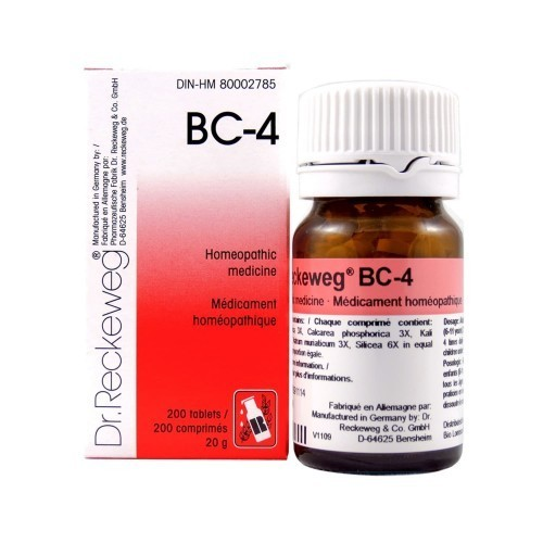 BC Series Homeopathic Medicines - BC 4 Homeopathic Drop Retailer