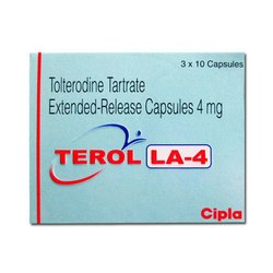 Tolterodine Tartrate Extended Release Capsule