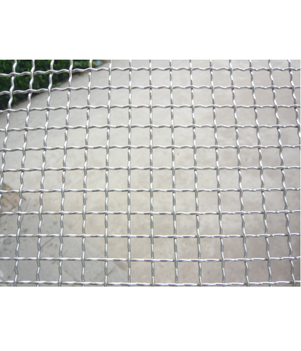 SS316 Crimped Wire Mesh, Rs 34 /square feet, Zain Corporation | ID ...