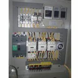 Mild Steel Single Phase Star Delta Starter Control Panel, IP Rating: IP44