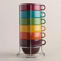 Multicolour Mug Stand