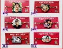Multicolor Personalised Custom Raksha Bandhan Rakhi with Sublimation MDF