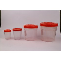 Cozy 4 Pcs Plastics Container Set