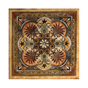 Multicolor Decorative Italian Tile, Size: Medium