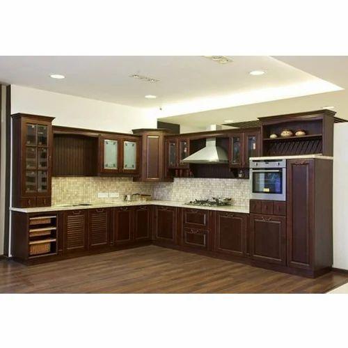 Modular Kitchen Designs In Delhi: Laminated Modular Kitchen, लैमिनेटेड मॉडुलर किचन - Right 99 Decor, New Delhi
