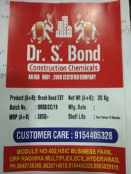 Brushbond Waterproofing Chemical