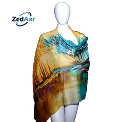 0c80407dd2 Wedding Wear And Formal Wear Digital Print Scarves Shawls