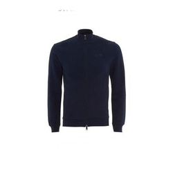 Navy Blue Small And Large And XL Zipper Sweatshirt