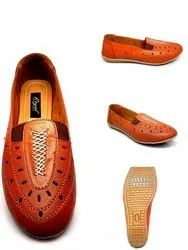 Leather Bally TPR Sole Shoes For Casual Wear, Packaging Type: Box