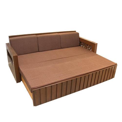Teakwood And Commercial Plywood Designer Sofa Cum Bed Rs 32000