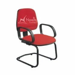 NF-157 Red Conference Medium Back Chair