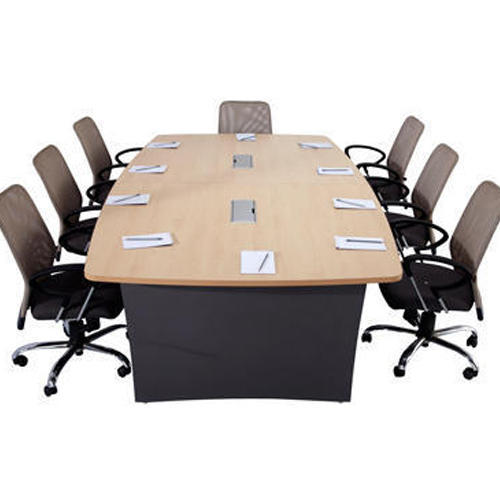 Wooden Rectangular Seater Godrej Ideate Conference Table Rs - 12 seater conference table