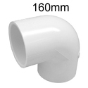 160mm Upvc Pipe Elbow, Size: 160mm And Also Available In 200mm