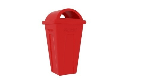 Green,red Industrial Dustbin