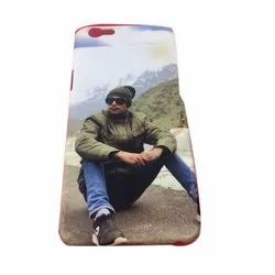 Plastic Printed Mobile Back Cover, Size: 5.5 Inch