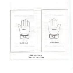 Surgical Gloves Paper With 6 Folding - 39 Cm X 24.5 Cm
