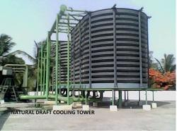 Siddhant Natural Draft Cooling Towers, 220-440 V, Cooling Capacity: 5 Tr- 500 Tr