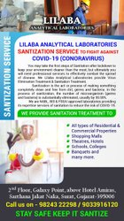 Sanitization Service To Fight Against Covid - 19 (Coronavirus)