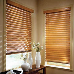 Wooden Brown Window Blind