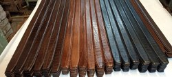 Genuine leather belts profile