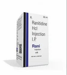 30 ml Ranitidine HCL Injection I.P.