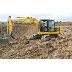 L&T Komatsu PC 130 Excavator