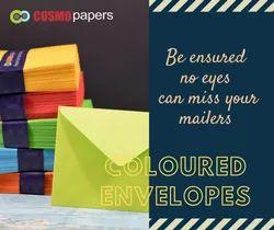 Coloured Paper Envelope, Bag & Office Shape