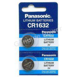 Panasonic CR1632 Button Cell Batteries