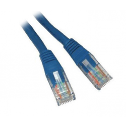 Blue Computer Cat 5e Cable